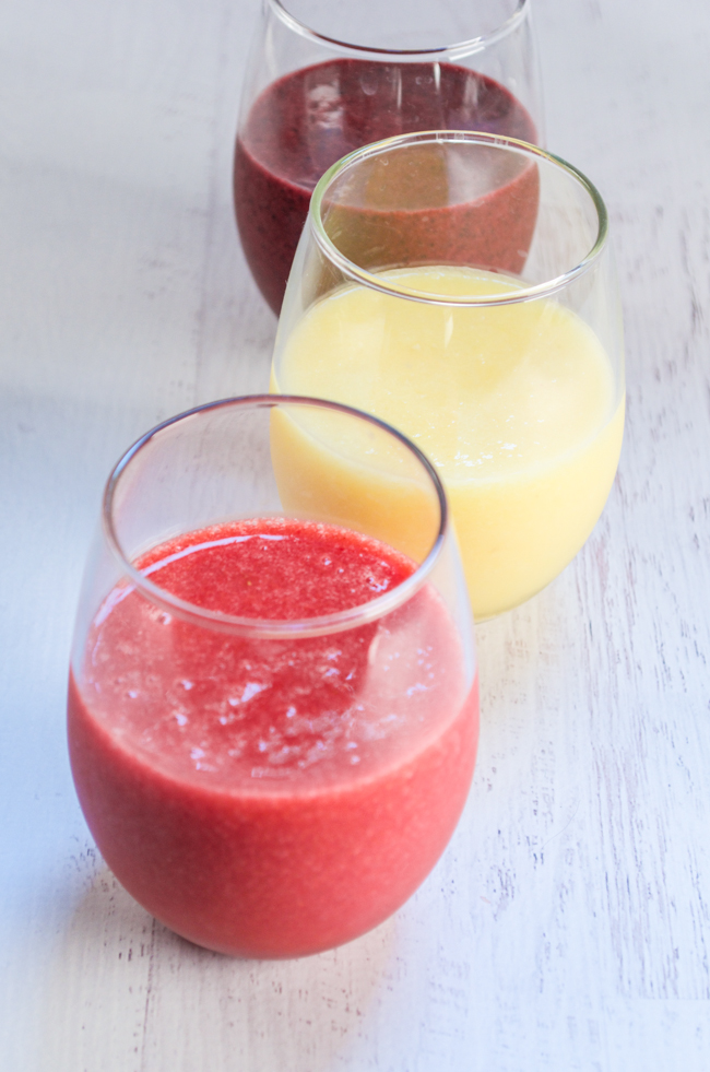 Three Simple Summer Smoothies from www.sprinkledsideup.com